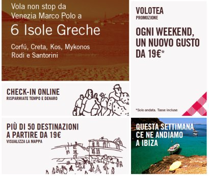 Questa estate offerte voli con volotea per la grecia for Cambio orario volo da parte della compagnia